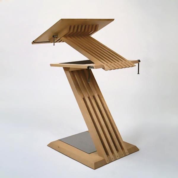 Gestaltung-Stehpult Z-Line/ eigener Entwurf _Tisch