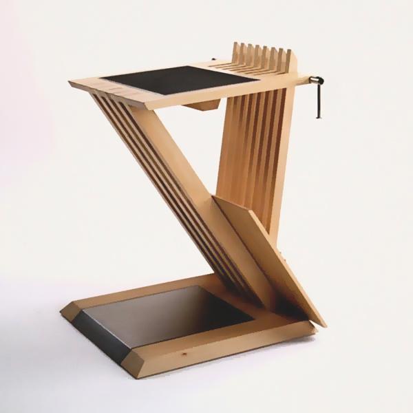 Gestaltung-Stehpult Z-Line/ eigener Entwurf _Zu
