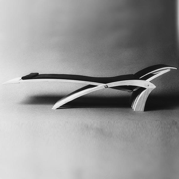 Gestaltung-Liege- und Stuhlobjekt X-EVO/ eigener Entwurf_Entwurfsmodell liege