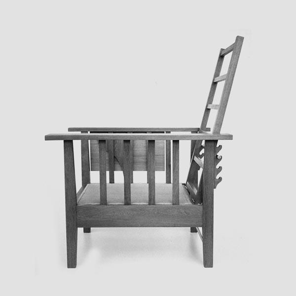 Rekosntruktion-Armlehnsessel Eiche/Bauhaus_ohne Matratze