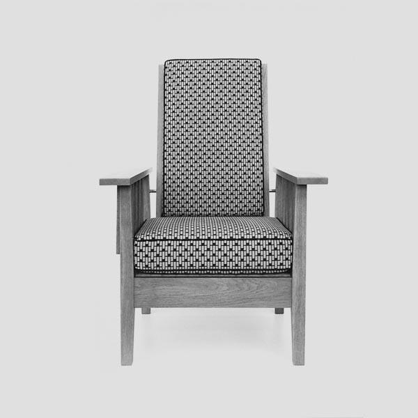 Rekosntruktion-Armlehnsessel Eiche/Bauhaus_vorne