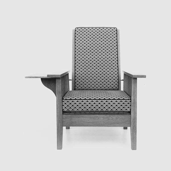Rekosntruktion-Armlehnsessel Eiche/Bauhaus_mit Tisch