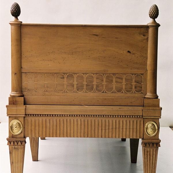 Möbel der Villa Hamilton um 1800_LiegeR