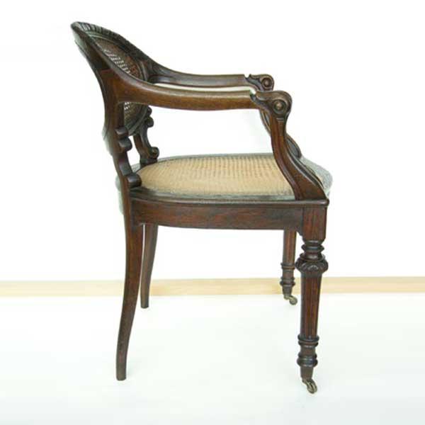 Möbelrestaurierung-Fontanesessel 19. Jahrhundert_Seite